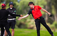 Action between Canterbury v Aorangi in the afternoon match up during the Toro Men's Interprovincial Golf Championship, Clearwater Golf Course, Christchurch, New Zealand. photo: Joseph Johnston/www.bwmedia.co.nz