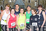 Tralee Born to Run members at the Feet First 5km in Killarney on Friday l-r: Mary Bowler, Deirdre Power, Siobhain Cushen, Grainne Power, Vivian Lo, Laura Kebane and Gail Tangney