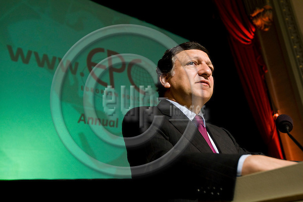 BRUSSELS - BELGIUM - 26 MAY 2008 -- European Policy Centre (EPC) Annual Conference. --  Jose Manuel BARROSO the President of the EU-Commission. -- PHOTO: Juha ROININEN / EUP-IMAGES