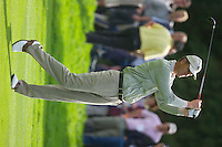Straffin Co Kildare Ireland. K Club Ruder Cup...European Ryder Cup team member Robert Karlsson takes his 2nd shot on the 16th fairway on the opening fourball session on the first day of the 2006 Ryder Cup, at the K Club in Straffan, Co Kildare, in the Republic of Ireland, 22 September 2006..Photo: Eoin Clarke/ Newsfile..