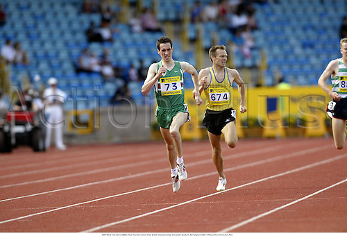 JOHN WILD (73), Men's 5000m Final, Norwich Union Trials & AAA Championships, Alexander Stadium, Birmingham 020714 Photo:Glyn Kirk/Action Plus...2002 Athletics.Track and Field .man.male jon
