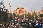 Aya Sofya mosque, Istanbul, Turkey, Ottoman, architecture, Sultanahmet District,.