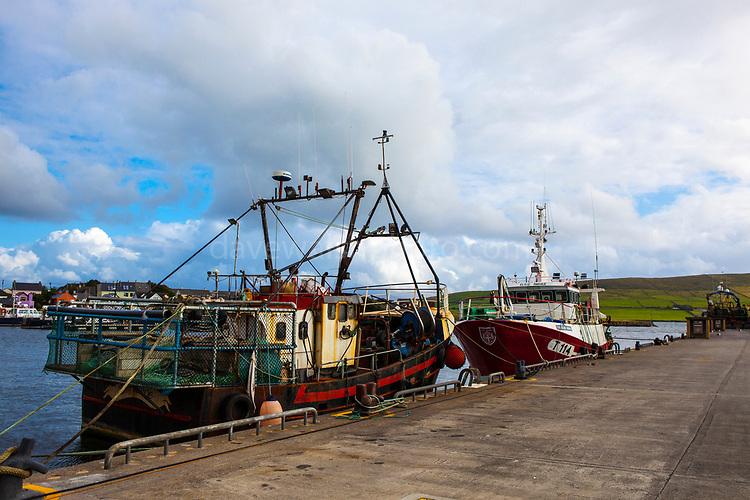Fishing vessels in Dingle, Kerry, Ireland