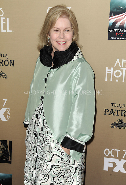 WWW.ACEPIXS.COM<br /> <br /> October 3 2015, LA<br /> <br /> Christine Estabrook arriving at the premiere of FX's 'American Horror Story: Hotel' at the Regal Cinemas L.A. Live on October 3, 2015 in Los Angeles, California.<br /> <br /> <br /> By Line: Peter West/ACE Pictures<br /> <br /> <br /> ACE Pictures, Inc.<br /> tel: 646 769 0430<br /> Email: info@acepixs.com<br /> www.acepixs.com