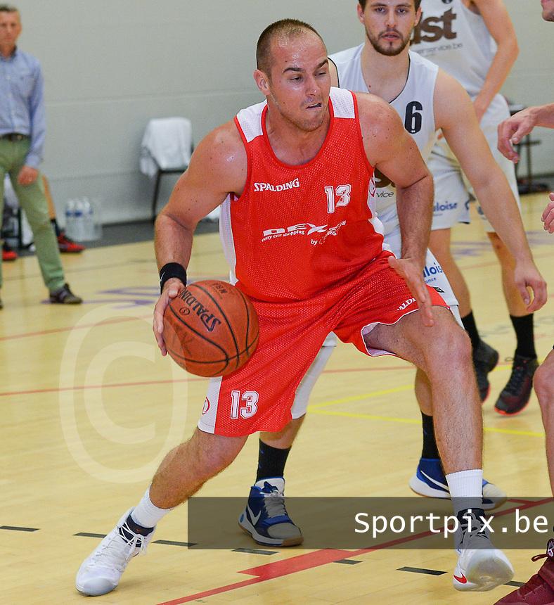 Kortrijk Sport CB : Michael Jegou<br /> Foto DAVID CATRY   VDB   Bart Vandenbroucke