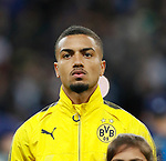Dortmund's Jeremy Toljan in action during the champions league match at Wembley Stadium, London. Picture date 13th September 2017. Picture credit should read: David Klein/Sportimage