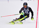 FRANCONIA, NH - MARCH 10: Erik Read of the University of Denver participates in the men's Slalom at the Division I Men's and Women's NCAA Skiing Championships held at Jackson Ski Touring on March 10, 2017 in Jackson, New Hampshire. (Photo by Gil Talbot/NCAA Photos via Getty Images)