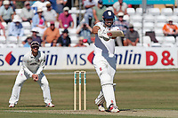 Alastair Cook in batting action for Essex during Essex CCC vs Somerset CCC, Specsavers County Championship Division 1 Cricket at The Cloudfm County Ground on 25th June 2018