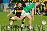 Death Casey Crokes in action Against James Walsh St Kierans in the  Kerry County Football Championship on Saturday.
