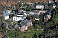 St. Adolf Stift: EUROPA, DEUTSCHLAND, SCHLESWIG- HOLSTEIN, REINBEK, (GERMANY), 09.02.2008: Reinbek, St. Adolf Stift, Krankenhaus, Pflege, Haus, Heim,  Schleswig, Holstein, Luftbild, Air.. c o p y r i g h t : A U F W I N D - L U F T B I L D E R . de.G e r t r u d - B a e u m e r - S t i e g 1 0 2, 2 1 0 3 5 H a m b u r g , G e r m a n y P h o n e + 4 9 (0) 1 7 1 - 6 8 6 6 0 6 9 E m a i l H w e i 1 @ a o l . c o m w w w . a u f w i n d - l u f t b i l d e r . d e.K o n t o : P o s t b a n k H a m b u r g .B l z : 2 0 0 1 0 0 2 0  K o n t o : 5 8 3 6 5 7 2 0 9.C o p y r i g h t n u r f u e r j o u r n a l i s t i s c h Z w e c k e, keine P e r s o e n l i c h ke i t s r e c h t e v o r h a n d e n, V e r o e f f e n t l i c h u n g n u r m i t H o n o r a r n a c h M F M, N a m e n s n e n n u n g u n d B e l e g e x e m p l a r !.