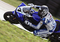 Josh Hayes races to victory in  the AMA Pro Superbike Championship weekend at New Jersey Motorsports Park, in Millville, NJ on Sunday, September 6, 2009.  (Photo by Brian Cleary/www.bcpix.com)