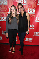 "Annabelle Negron and mother Kate Vernon<br /> ""108 Stitches"" World Premiere, Harmony Gold, Los Angeles, CA 09-10-14<br /> David Edwards/DailyCeleb.com 818-249-4998"