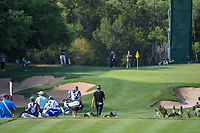 Byeong Hun An (KOR) leads the pack down 13 during day 2 of the Valero Texas Open, at the TPC San Antonio Oaks Course, San Antonio, Texas, USA. 4/5/2019.<br /> Picture: Golffile | Ken Murray<br /> <br /> <br /> All photo usage must carry mandatory copyright credit (&copy; Golffile | Ken Murray)