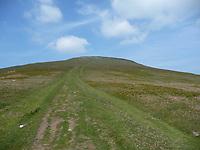 2019 07 31 Sugar Loaf mountain near Abergavenny, Wales, UK.
