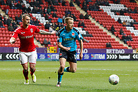 Paddy Madden of Fleetwood Town during the Sky Bet League 1 match between Charlton Athletic and Fleetwood Town at The Valley, London, England on 17 March 2018. Photo by Carlton Myrie.