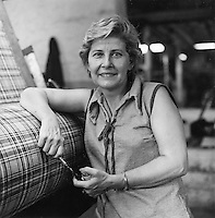 Pascoag, RI  weave inspector, textile mill Andrews Worsted