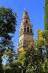 Cathedral belfry bell tower, Toree del Alminar, Cordoba, Spain