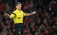 FUSSBALL   CHAMPIONS LEAGUE   VORRUNDE     SAISON 2013/2014    Arsenal London - SSC Neapel   01.10.2013 Schiedsrichter Milorad Mazic