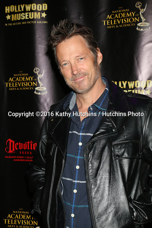 LOS ANGELES - APR 27:  Matthew Ashford at the 2016 Daytime EMMY Awards Nominees Reception at the Hollywood Museum on April 27, 2016 in Los Angeles, CA