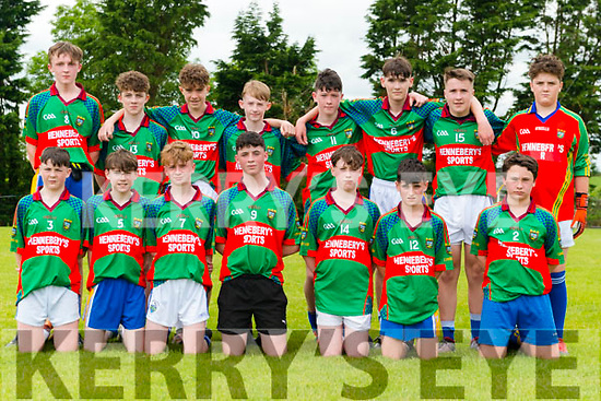 Eoghan Ruadh vs Mid Kerry U14 Football County Championship at the Kilcumin GAA last Sunday. Pictured Mid Kerry team.