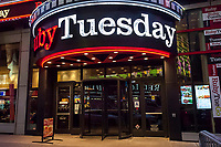 A branch of the Ruby Tuesday restaurant chain in Times Square is seen on Tuesday, June 6, 2017.  (© Richard B. Levine)