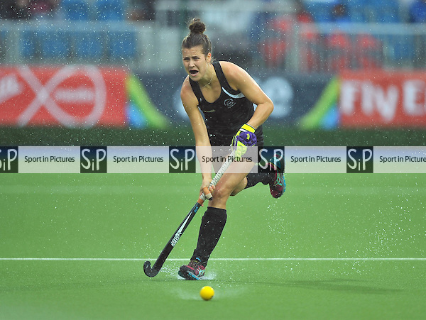 Rose Keddell (NZL). South Africa (RSA) v New Zealand (NZL). Womens bronze medal match. Hockey. PHOTO: Mandatory by-line: Garry Bowden/SIPPA/Pinnacle - Tel: +44(0)1363 881025 - Mobile:0797 1270 681 - VAT Reg No: 183700120 - 020814 - Glasgow 2014 Commonwealth Games - Glasgow national hockey centre, Glasgow, Scotland, UK