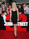 Anna Faris attends The Columbia Pictures' 22 JUMP STREET Premiere held at The Regency Village Theatre in Westwood, California on June 10,2014                                                                               © 2014 Hollywood Press Agency