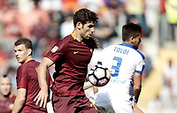 Calcio, Serie A: Roma, stadio Olimpico, 14 aprile 2017.<br /> Roma's Federico Fazio in action during the Italian Serie A football match between Roma and Atalanta at Rome's Olympic stadium, April 14, 2017.<br /> UPDATE IMAGES PRESS/Isabella Bonotto