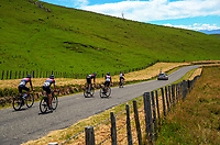 The JLT Condor team ride home after stage four of the 2018 NZ Cycle Classic UCI Oceania Tour (Masterton to Admiral's Hill) in Wairarapa, New Zealand on Saturday, 20 January 2018. Photo: Dave Lintott / lintottphoto.co.nz