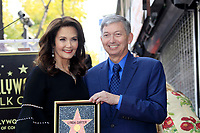 LOS ANGELES - APR 3:  Lynda Carter, Leron Gubler at the Lynda Carter Star Ceremony on the Hollywood Walk of Fame on April 3, 2018 in Los Angeles, CA