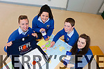 Students from Abbeyfeale Secondary school Ryan Maher, Amy Sheehy, Aodhan Cotter and Emma Sexton are busy fundraising for their trip to Kalcutta next month with the Hope Foundation.