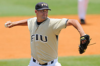 17 May 2008: Florida International starting pitcher Steven Stewart (34) throws in the second inning of the Florida Atlantic 10-9 victory over FIU at University Park Stadium in Miami, Florida.