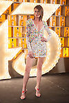 Spanish model Nieves Alvarez poses during Licor 43 presentation in Madrid, Spain. January 29, 2015. (ALTERPHOTOS/Victor Blanco)