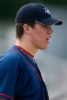 Trevor May #54 of the Lakewood BlueClaws at Fieldcrest Cannon Stadium July 10, 2009 in Kannapolis, North Carolina. (Photo by Brian Westerholt / Four Seam Images)