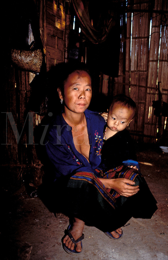 Mother and Child  Loas  Lunag Phabang, Province
