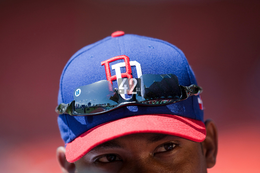7 March 2009: #11 Jose Guillen of the Dominican Republic is seen prior to a game during the 2009 World Baseball Classic Pool D match at Hiram Bithorn Stadium in San Juan, Puerto Rico. Netherlands pulled off a huge upset in their World Baseball Classic opener with a 3-2 victory over Dominican Republic.