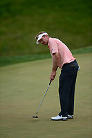 Potomac, MD - July 1, 2017: Billy Hurley III putts on the 9th hole during Round 3 of professional play at the Quicken Loans National Tournament at TPC Potomac at Avenel Farm in Potomac, MD, July 1, 2017.  (Photo by Don Baxter/Media Images International)