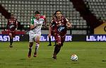 Once Caldas venció 1-0 a Deportes Tolima. Partido de ida cuartos de final Liga Águila I-2018.