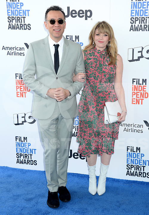SANTA MONICA, 25.02.20-17 - SPIRIT-AWARDS - Natasha Lyonne durante Film Independent Spirit Awards em Santa Monica na California nos Estados Unidos (Foto: Gilbert Flores/Brazil Photo Press)