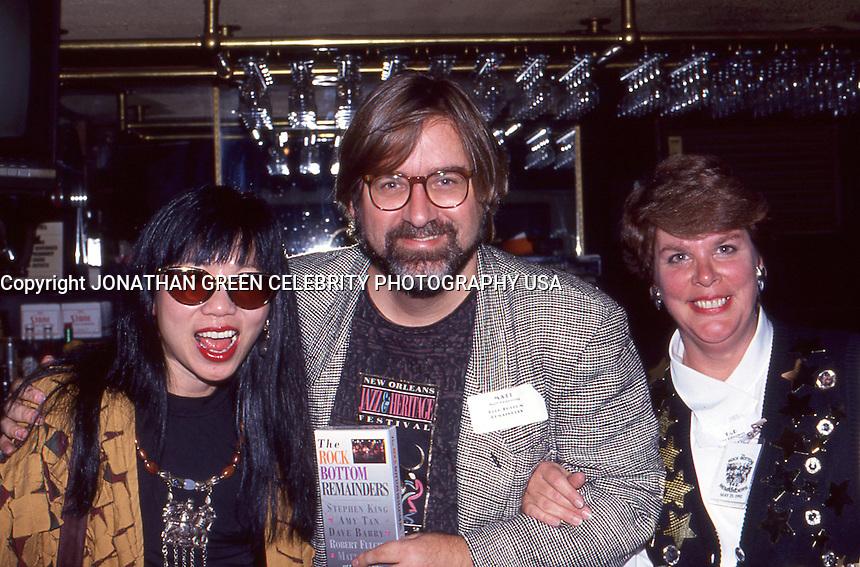 Matt Groening w/Amy Tan & Tad Bartimus 1992 by Jonathan Green