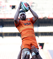 Action from the Super Rugby quarter-final match between the Emirates Lions and the Jaguares at the Emirates Airlines Park Stadium,Johannesburg, South Africa on Saturday, 21 July 2018. Photo: Steve Haag / stevehaagsports.com
