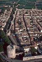 Europe/France/Languedoc-Roussillon/30/Gard/Aigues Mortes: Vue aérienne