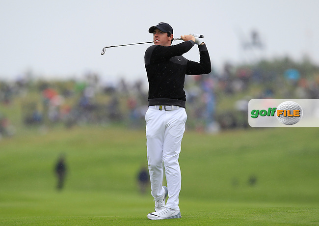 Rory McIlroy (NIR) on the 9th fairway during Round 4 of the 100th Open de France, played at Le Golf National, Guyancourt, Paris, France. 03/07/2016. <br /> Picture: Thos Caffrey | Golffile<br /> <br /> All photos usage must carry mandatory copyright credit   (&copy; Golffile | Thos Caffrey)