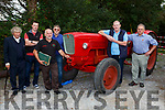 John Fiztgerald, Farmers Bridge, Paul and Teddy Murphy Abbeyfeale, Jack Leonard Banteer, tuddy Clifford Beaufort and Pat Gill Neanagh at the Mid Kerry Vintage Rally in Castlemaine on Sunday