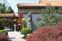 Buddist Temple, Steveston, British Columbia, Canada.