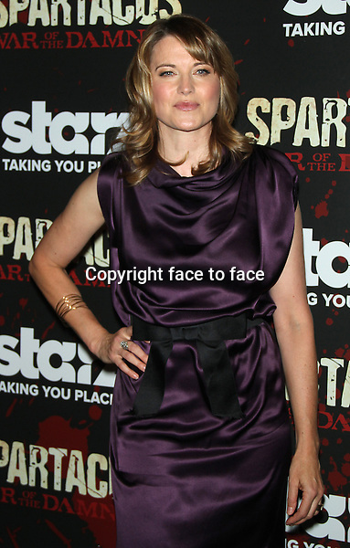 "Lucy Lawless at the final season premiere of Starz's ""Spartacus: War of the Damned"" at the Museum of Modern Art in New York City. January 24, 2013. ..Credit: MediaPunch/face to face..- Germany, Austria, Switzerland, Eastern Europe, Australia, UK, USA, Taiwan, Singapore, China, Malaysia and Thailand rights only -"