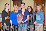 BASKETBALL: Member's of the Glenbeigh Falcons winners of division 4 at the Kerry Senior Basketball awards at the Castle bar, Tralee on Friday l-r: Zelda O'Shea, Tara Sheehan, Anna-Maria O'Donoghue, Jackie Murphy and Ann Smith.