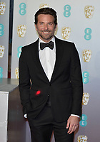 LONDON, UK - FEBRUARY 10:  Bradley Cooper at the 72nd British Academy Film Awards held at Albert Hall on February 10, 2019 in London, United Kingdom. <br /> CAP/MPI/IS<br /> ©IS/MPI/Capital Pictures
