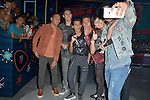 CORAL GABLES, FL - JULY 14: Christopher Velez, Zabdiel de Jesus, Joel Pimentel, Erick Brian Colon, Richard Camacho of CNCO and William Valdés attends the Univision's 13th Edition Of Premios Juventud Youth Awards at Bank United Center on July 14, 2016 in Coral Gablesi, Florida.  ( Photo by Johnny Louis / jlnphotography.com )