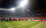 Liverpool team during UEFA Champions League match, Final Roundl between Tottenham Hotspur FC and Liverpool FC at Wanda Metropolitano Stadium in Madrid, Spain. June 01, 2019.(Foto: nordphoto / Alterphoto /Manu R.B.)